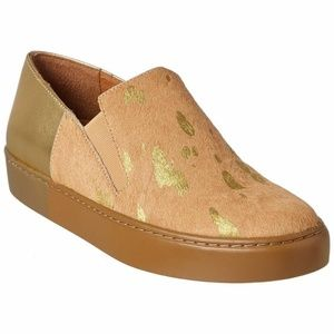 FREE PEOPLE Varsity Calf hair Slip-On Sneaker 37